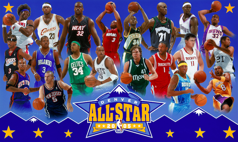 NBA. All-Star Game 2005